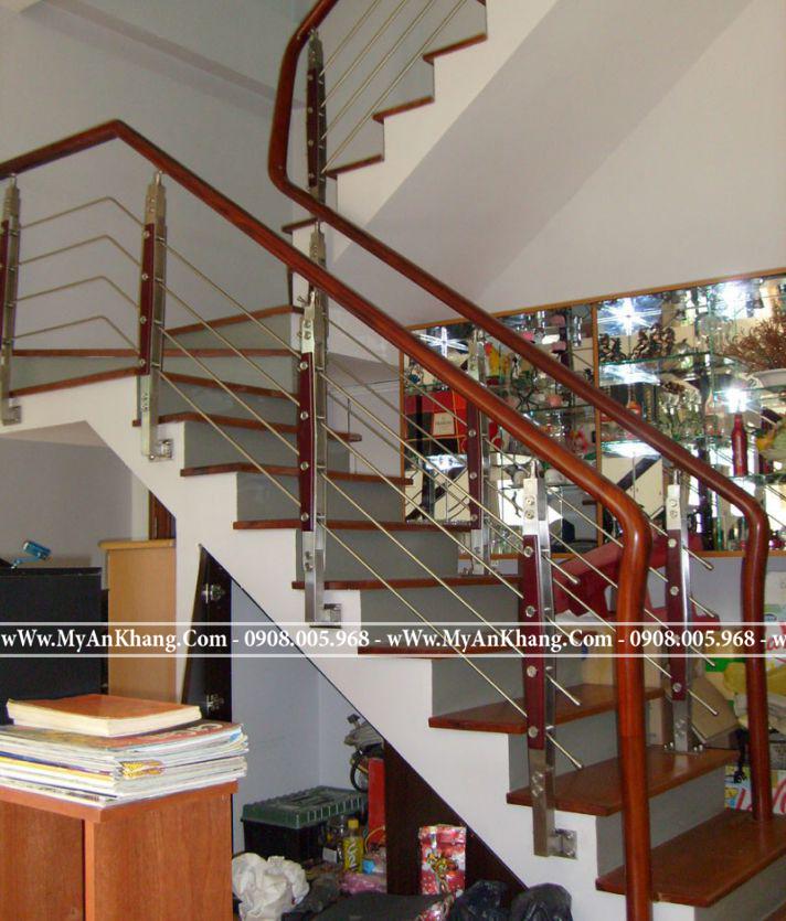 Mẫu Cầu thang đẹp nhất TPHCM