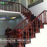 Thi công Cầu thang gỗ tại TPHCM