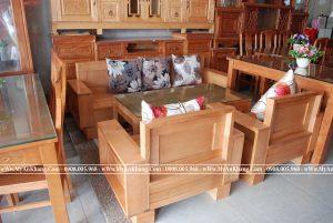 salon Phòng khách theo phong cách Nhật Bản lùn gỗ tự nhiên