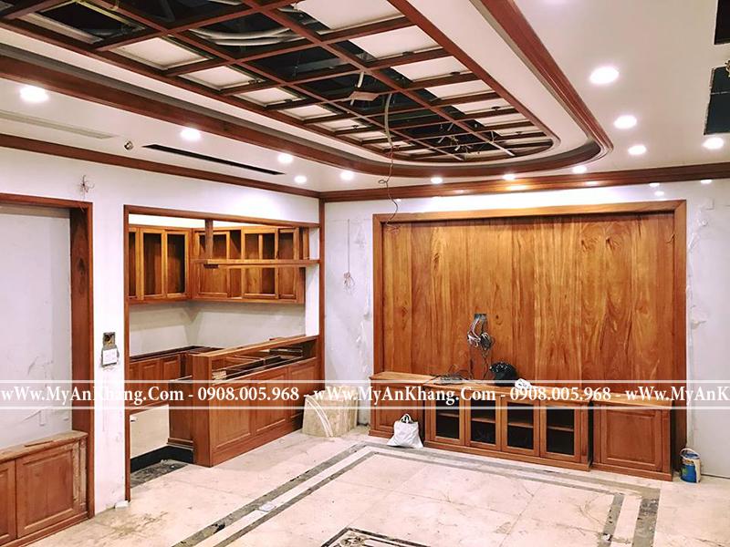 Thi công nội thất gỗ tự nhiên tại TPHCM