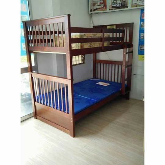 Giường ngủ 2 tầng trẻ em đẹp giá rẻ TPHCM dành cho phòng trọ, 2 bé trai