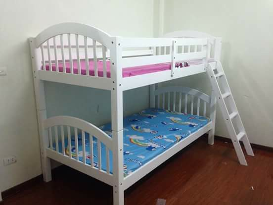 Giường ngủ 2 tầng trẻ em đẹp giá rẻ đơn giản TPHCM