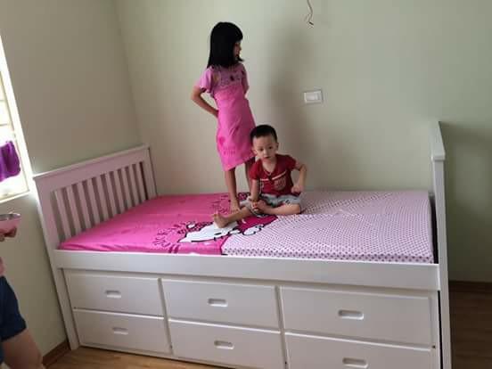 Giường ngủ 3 tầng trẻ em đẹp giá rẻ TPHCM