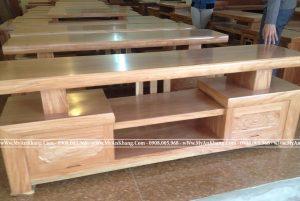 Kệ tivi gỗ sồi Nga giá rẻ tại TPHCM