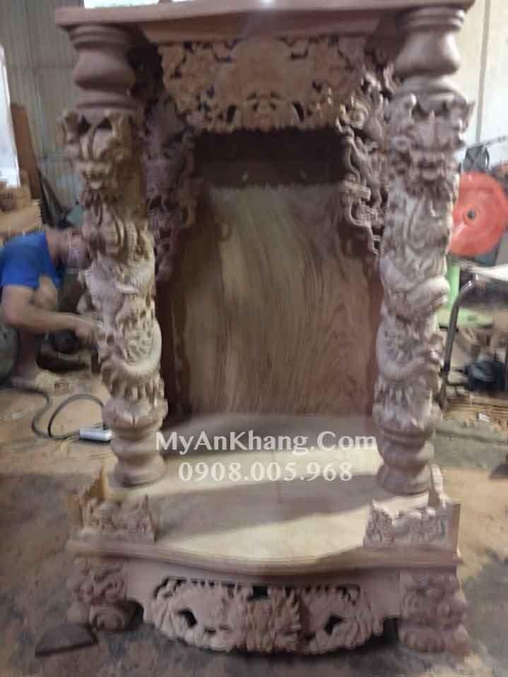 Xưởng xản xuất bàn thờ ông địa tại TPHCM