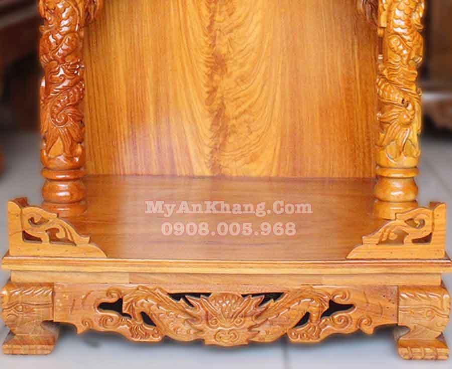 Bàn thờ ông địa rộng 60cm mái bằng đẹp giá rẻ tại TP. Hồ Chí Minh