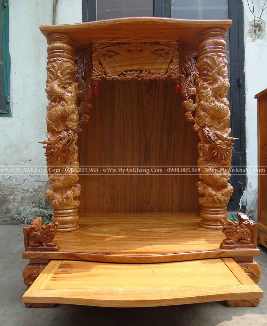 Bàn thờ ông địa thần tài ngang 81 cao 108 ngăn kéo rộng