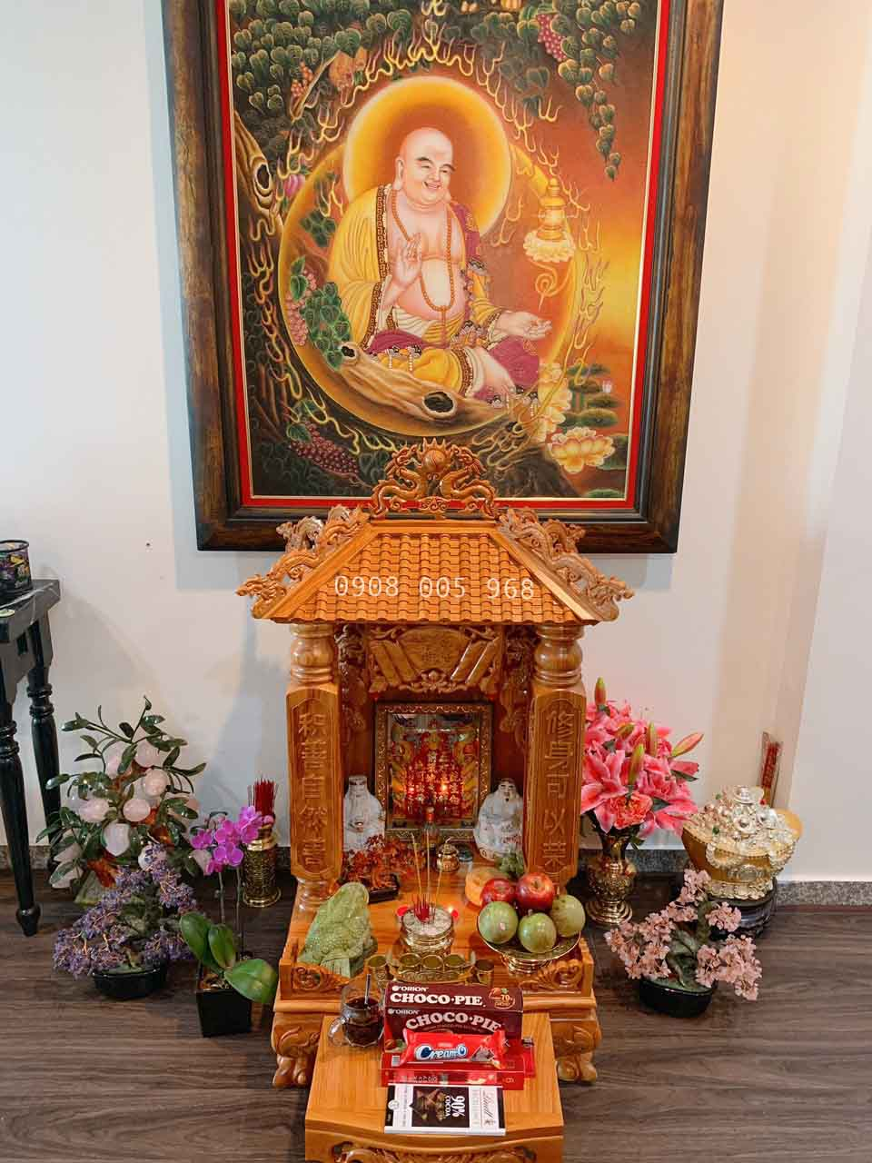 Hình ảnh bàn thờ thần tài đẹp