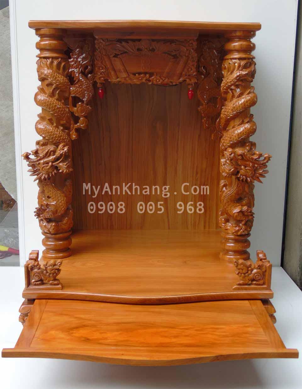 Mẫu bàn thờ thần tài ông địa đẹp TPHCM