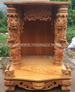 Mẫu Bàn thờ ông địa thần tài đẹp BTOD-013