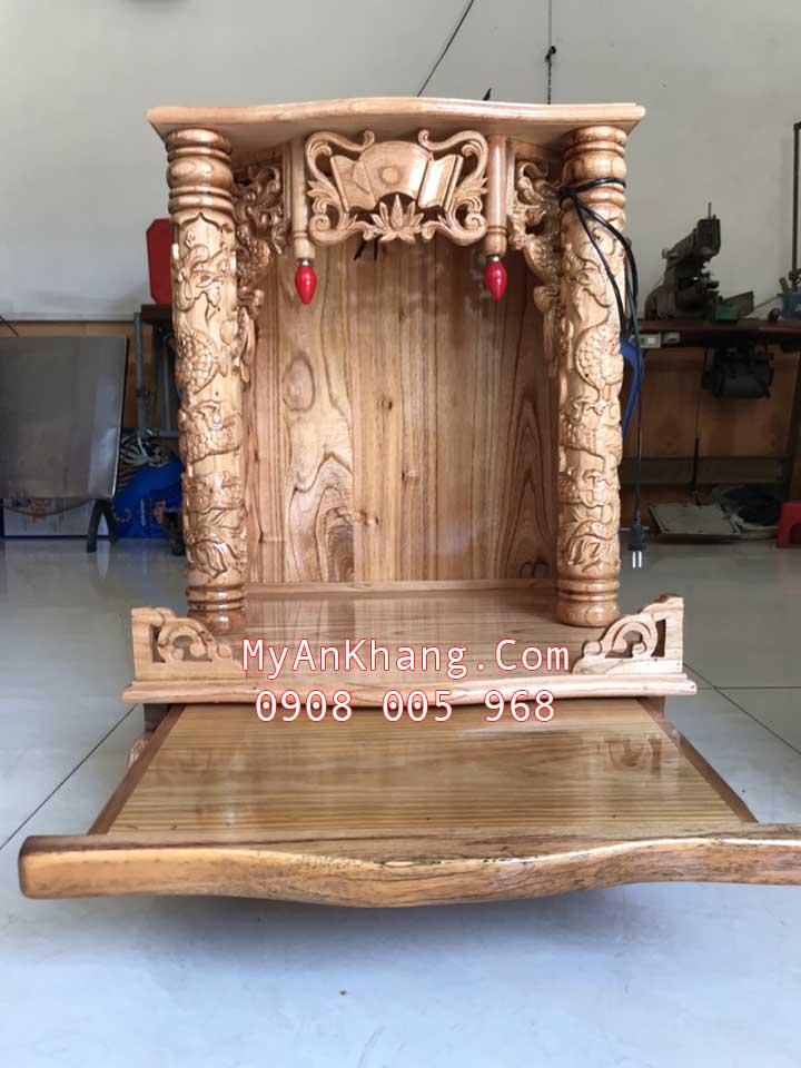 Bàn thờ ông địa thần tài gỗ xoan đào giá rẻ tại TP. Hồ Chí Minh