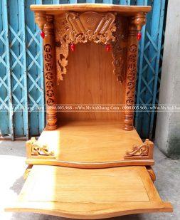 Bàn thờ thần tài ông địa đẹp đơn giản BTOD-030