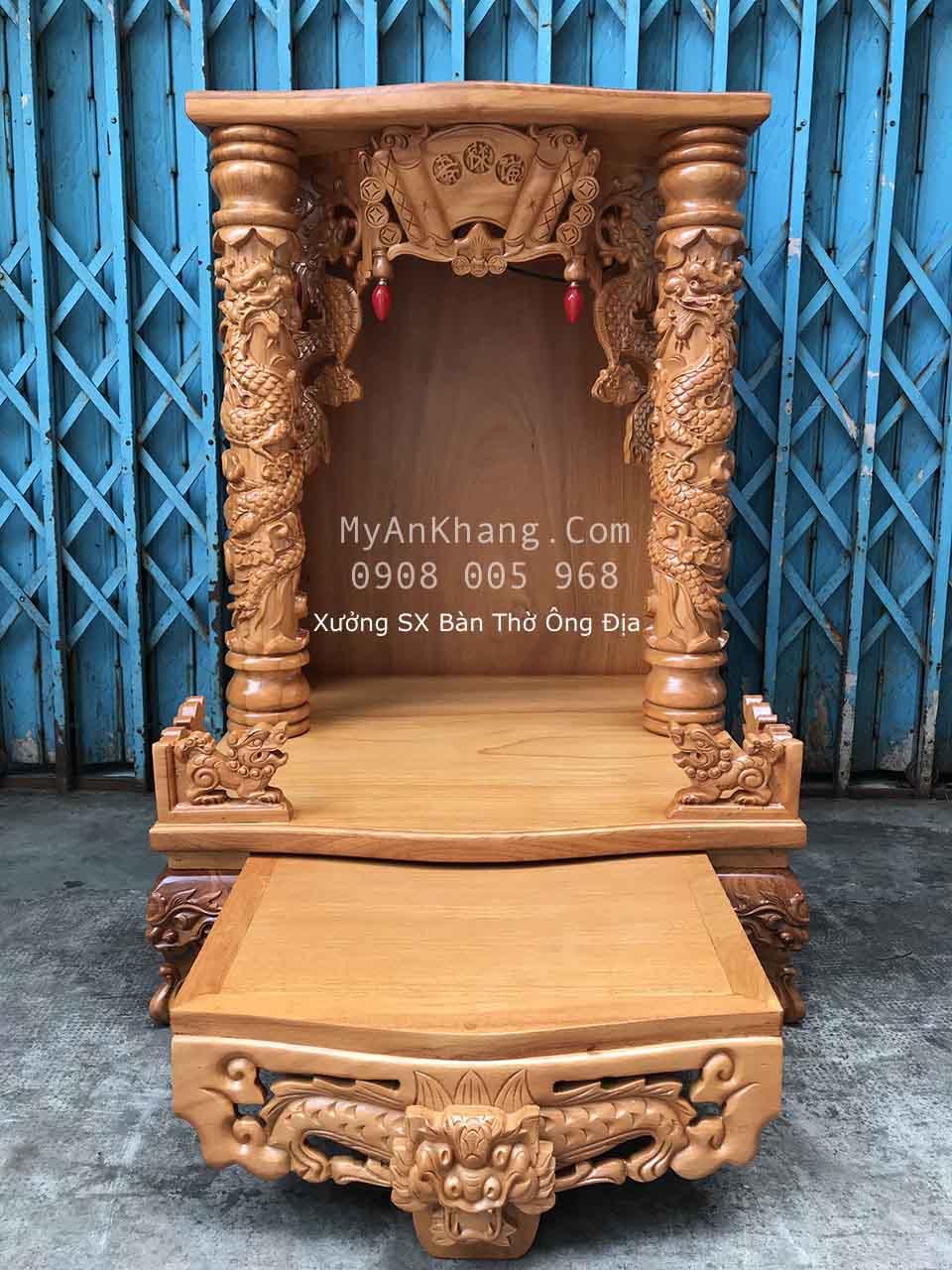 Trang bàn thờ thần tài đẹp Mỹ An Khang