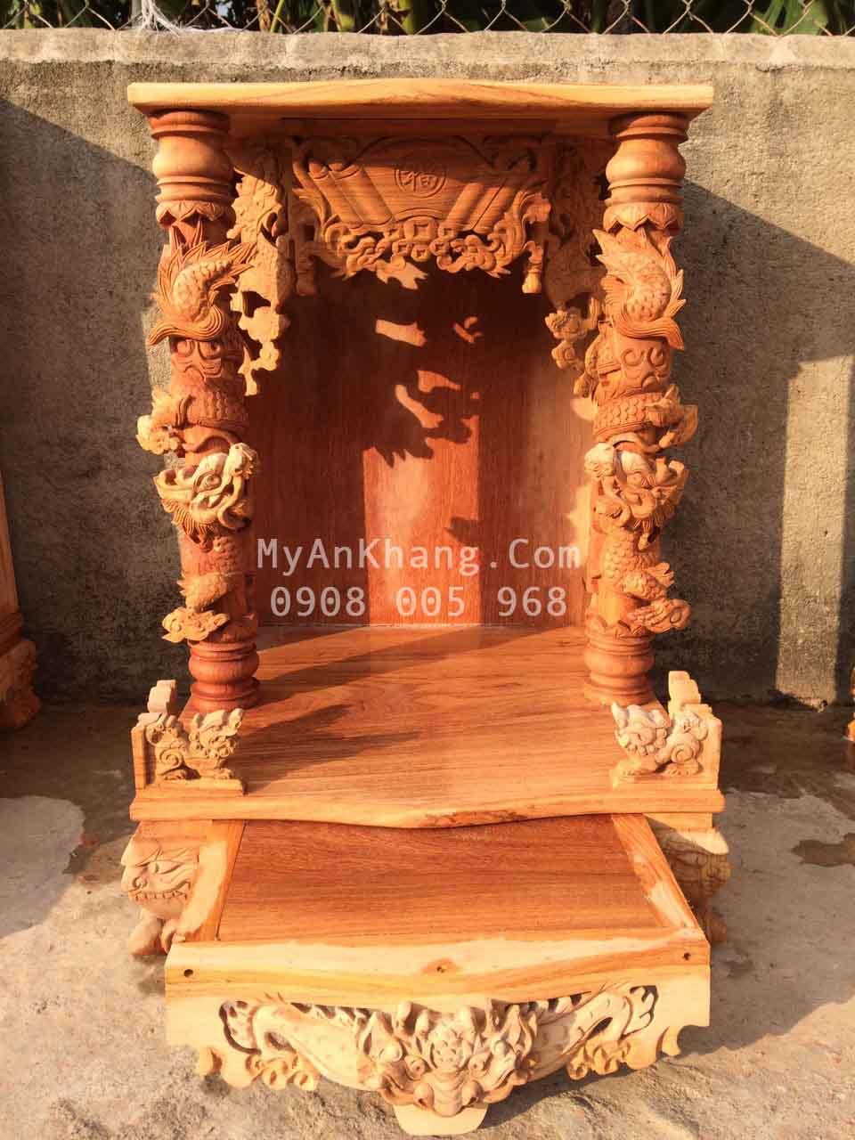 Bàn thờ ông địa thần tài đẹp tại Long An