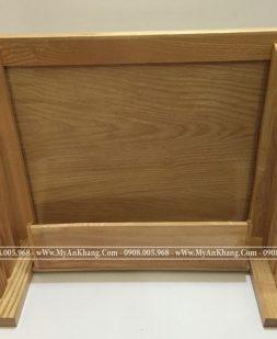 Bàn thờ treo tường gỗ sồi