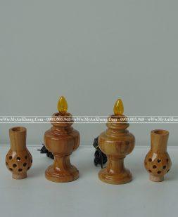 Đèn thờ gỗ gõ đỏ giá rẻ