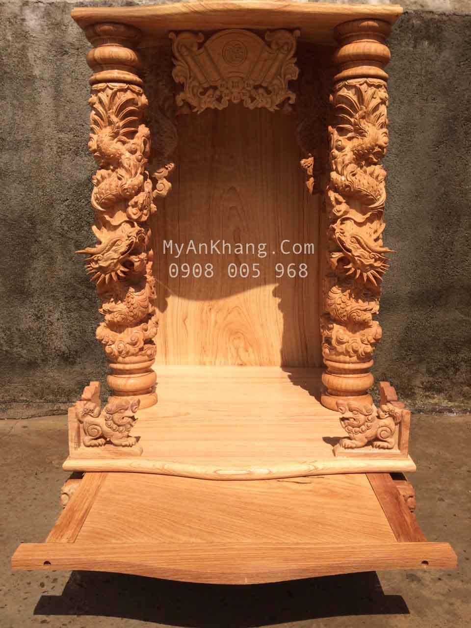 Bàn thờ ông địa thần tài đẹp quận 2 tại TPHCM