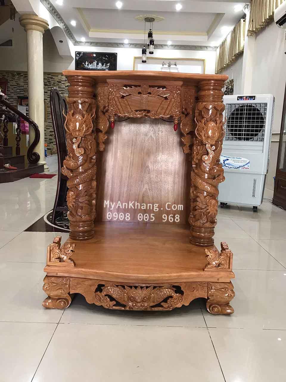 Mẫu bàn thờ thần tài ông địa đẹp tại quận 9 Sài Gòn