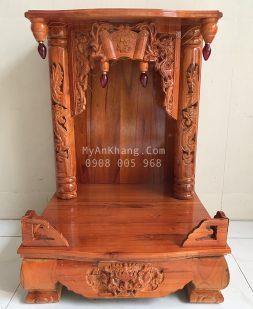 Bàn thờ ông địa thần tài gỗ xoan đào 48 48 68