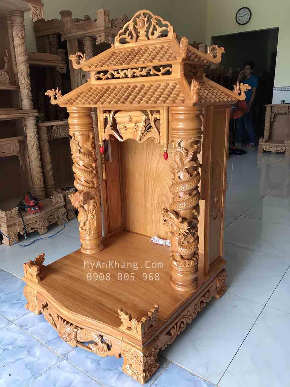 Bàn thờ ông địa đẹp tại Quảng Nam