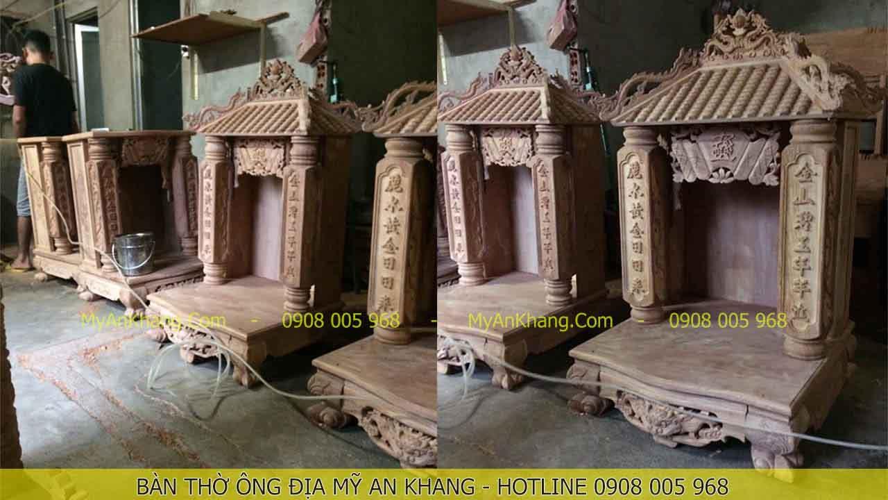 Xưởng sản xuất bàn thờ ông địa MAK