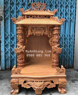 Bàn thờ thần tài mái chùa đẹp hông VIP