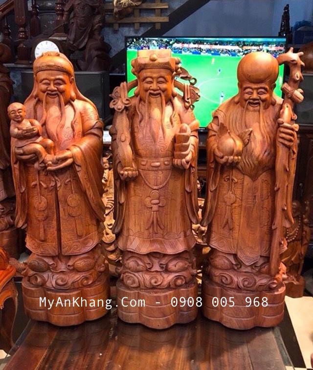 Mẫu tượng tam đa bằng gỗ đẹp