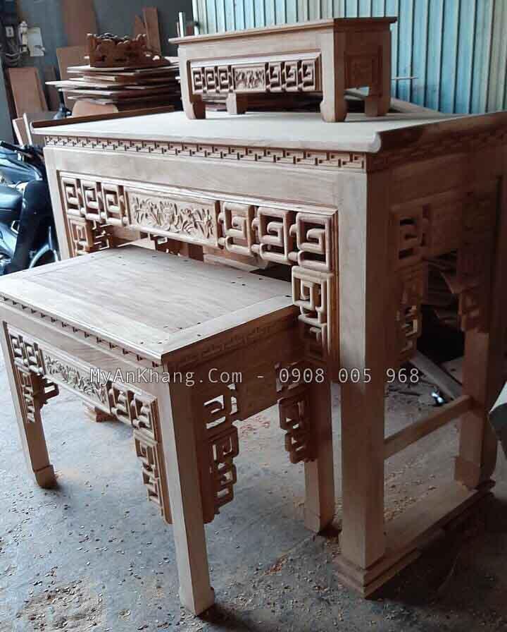 Xưởng sản xuất bàn thờ gia tiên TPHCM