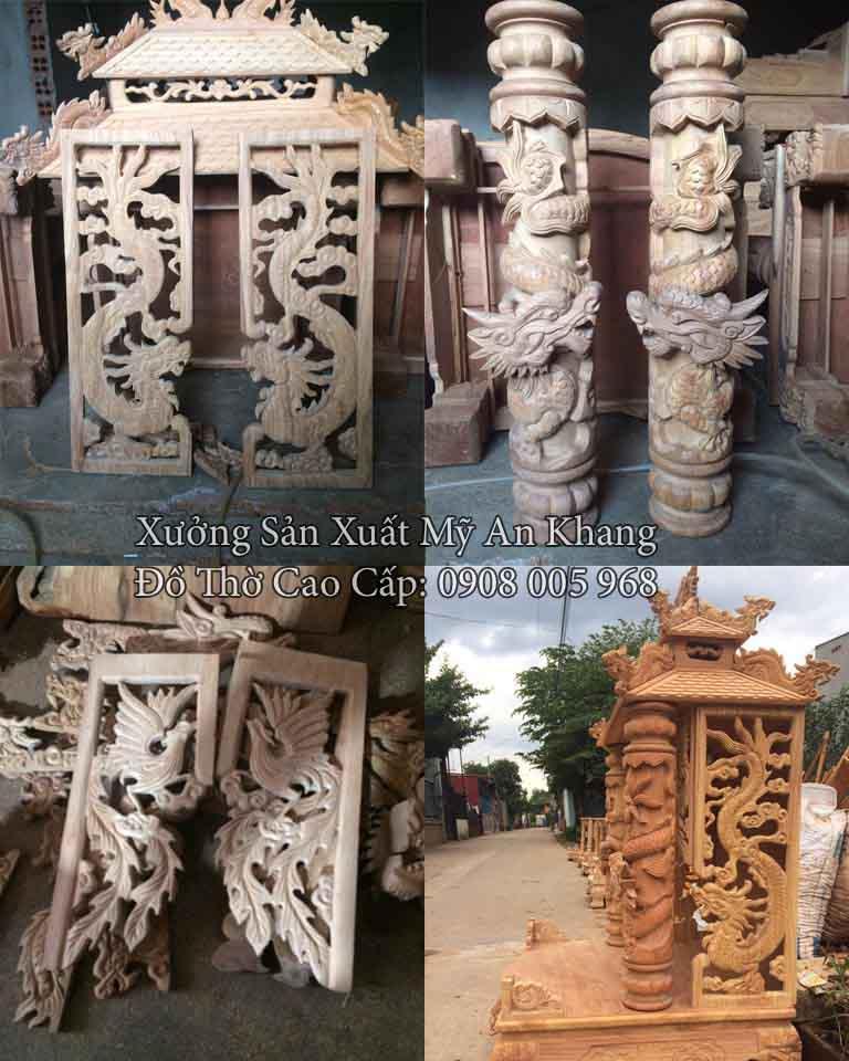 Xưởng sản xuất đồ thờ cao cấp Mỹ An Khang