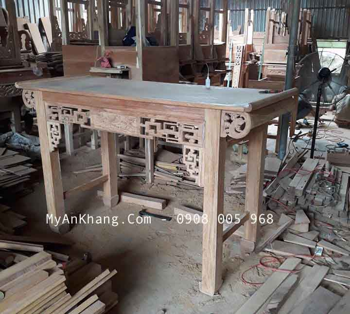 Xưởng sản xuất bàn thờ gia tiên giá rẻ
