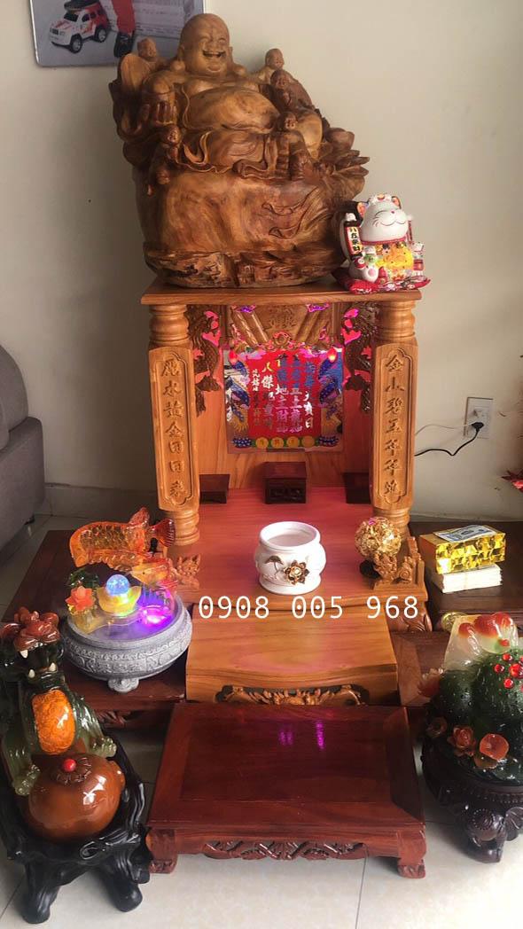 Bàn thờ thần tài thổ địa đẹp tại Hải Phòng
