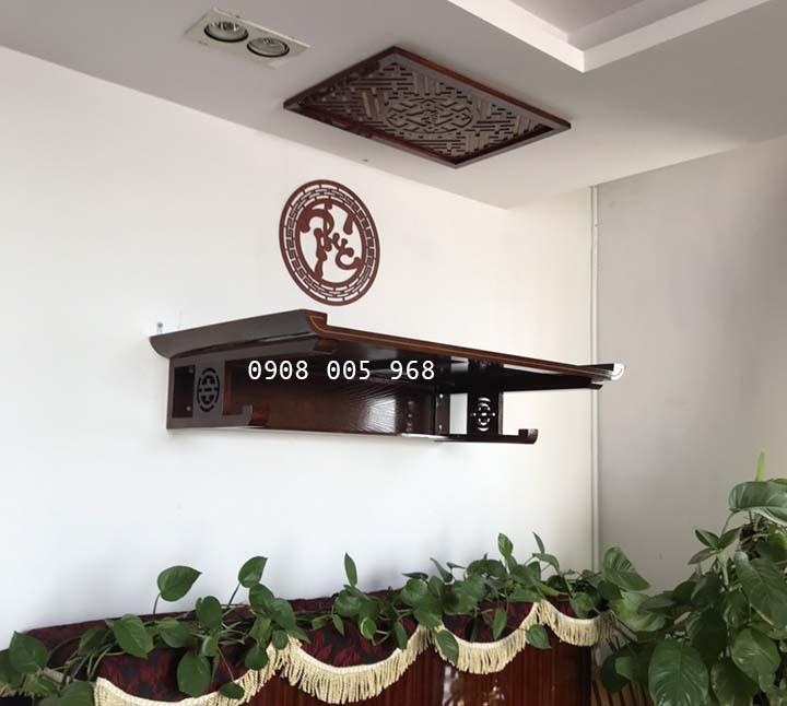 Bàn thờ treo tường đẹp tại quận 1 TPHCM