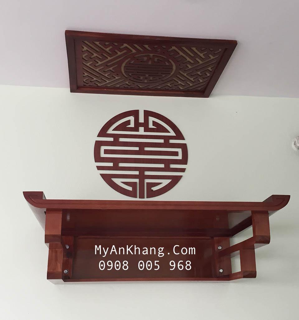Mẫu bàn thờ treo tường đẹp hiện đại