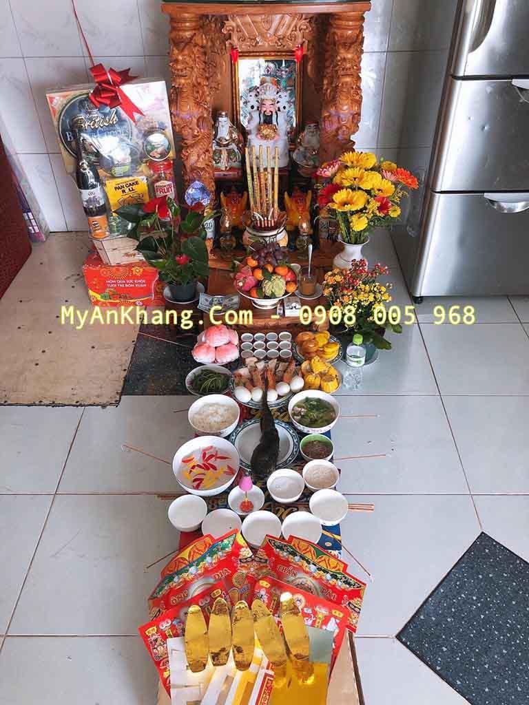 Sắp lễ cúng vía thần tài ngày 10 tháng giêng âm lịch