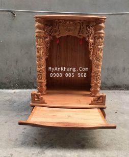 Bàn thờ ông địa gỗ xoan đào đẹp giá rẻ TPHCM