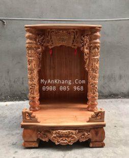 Bàn thờ thần tài gỗ xoan đào giá rẻ TPHCM