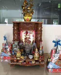 Trang trí bàn thờ thần tài chuẩn
