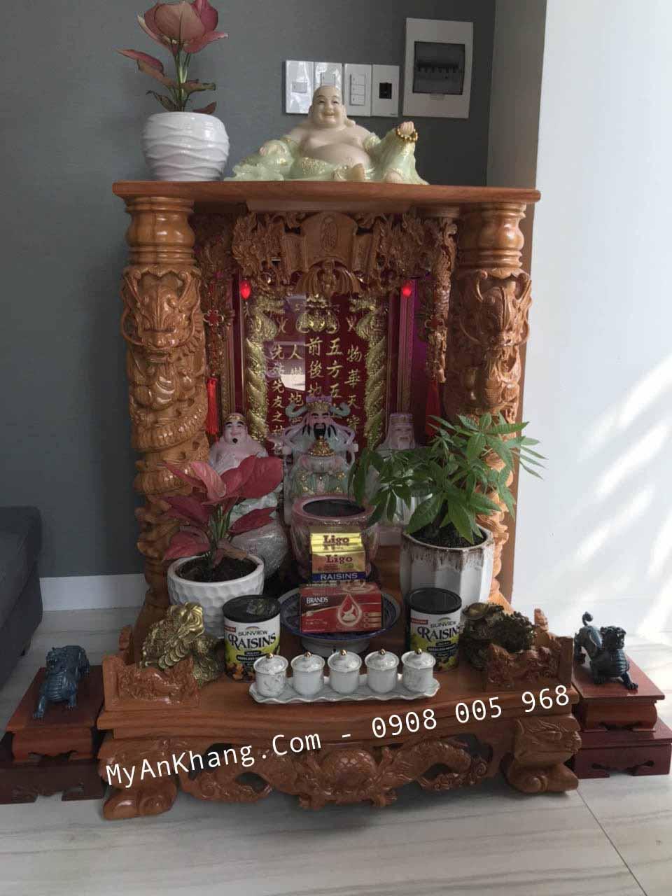 Bàn thờ ông địa thần tài đẹp MAK 81 81 108
