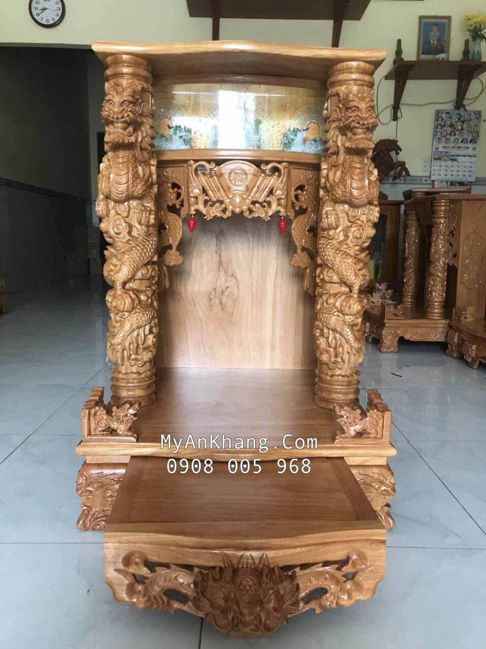Bàn thờ thần tài ông địa đẹp tại Rạch Giá