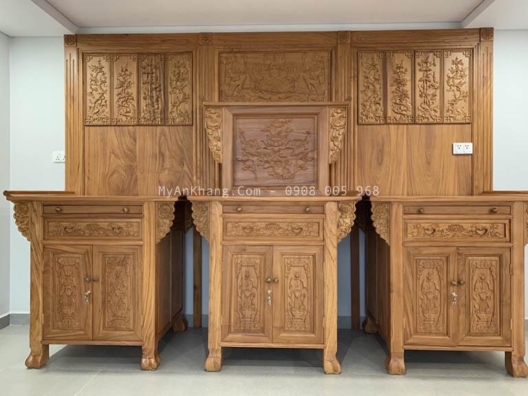 Thiết kế thi công phòng thờ đẹp TPHCM