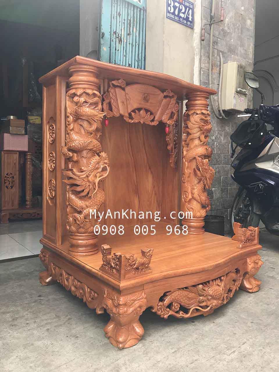 Mẫu bàn thờ ông địa thần tài đẹp VIP nhất TPHCM