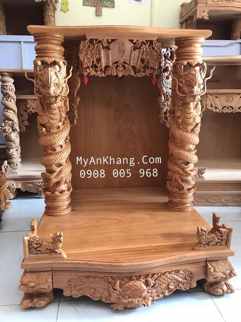 Bàn thờ ông địa thần tài đẹp tại đường Nguyễn Chí Thanh