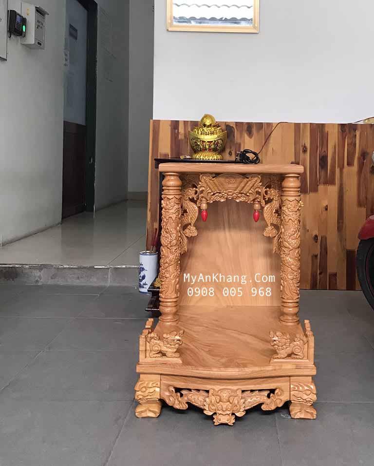 Bàn thờ thần tài đẹp giá rẻ tại quận 3 TPHCM