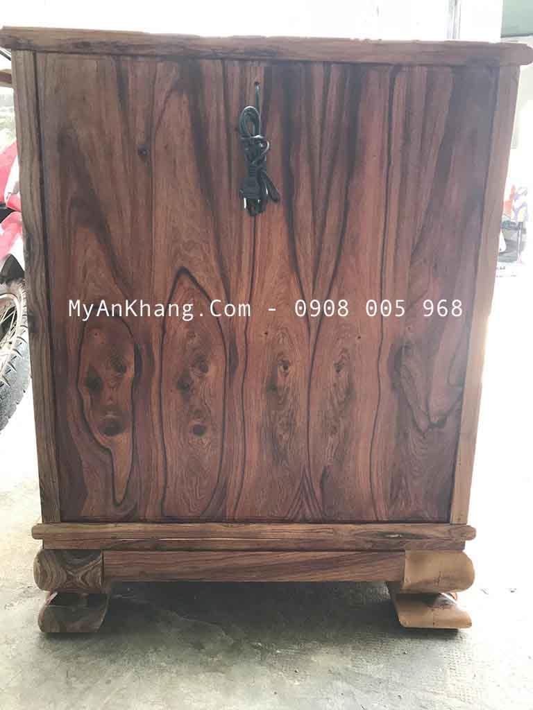 Mặt lưng gỗ cẩm lai vân tím Gia Lai đẹp