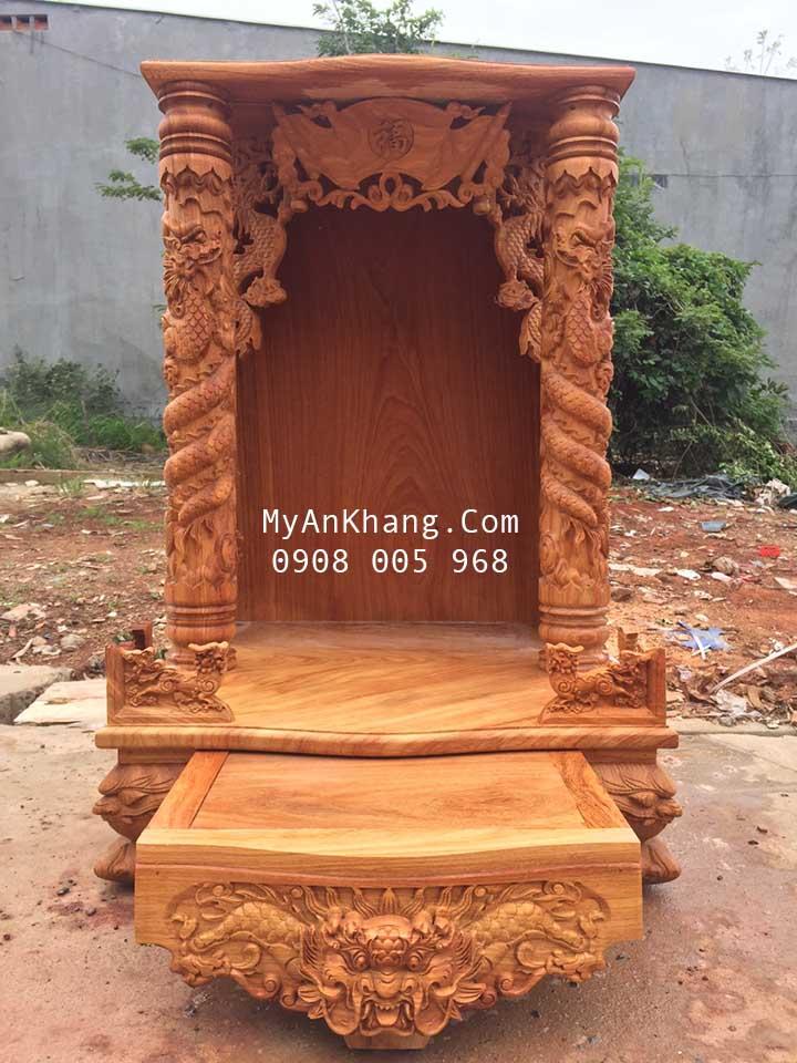 Bàn thờ thần tài đẹp tại quận Phú Nhuận kt 69 x 69 x 107 cm