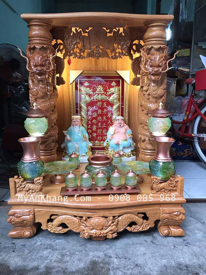 Bàn thờ ông địa thần tài đẹp quận phú nhuận BTOD-055