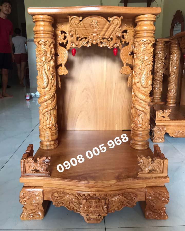 Bàn thờ thần tài đẹp giá rẻ tại Quy Nhơn BTOD-016