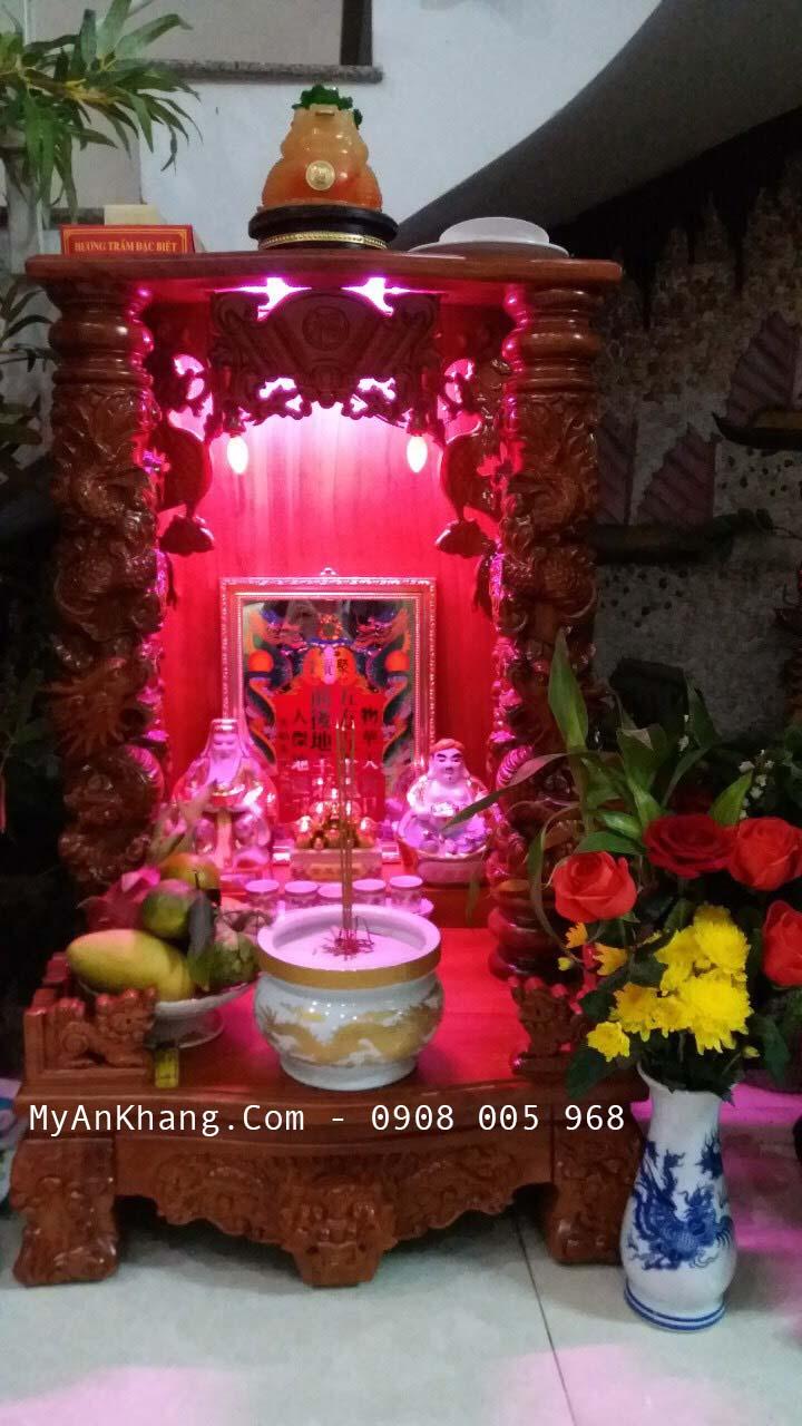 Tủ thờ thần tài đẹp tại Quy Nhơn