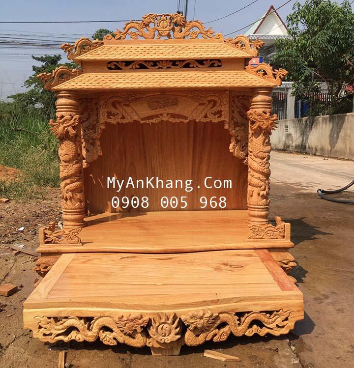 Bàn thờ thần tài ông địa máy chùa đẹp tại Phan thiết bình thuận