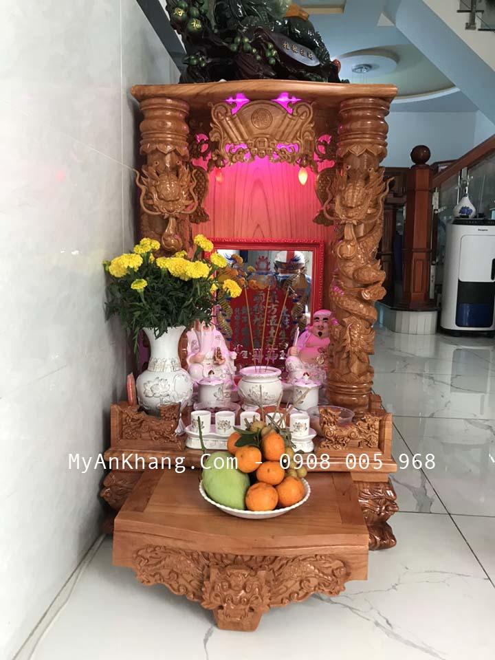 Bàn thờ thần tài ông địa đẹp tại Bình Thuận